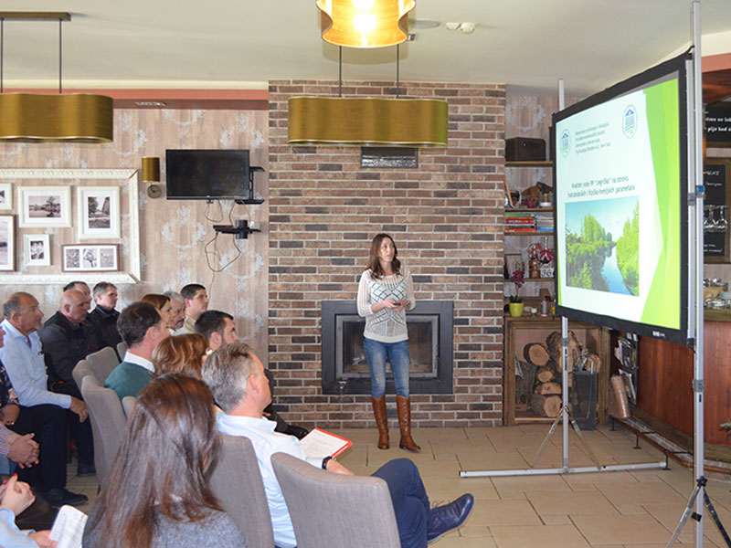 Educational workshop for farmers