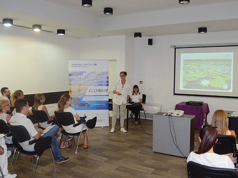 """Round table on the topic of flood protection within the """"Eco-friendly water management against extreme weather conditions in the cross-border area"""" project"""