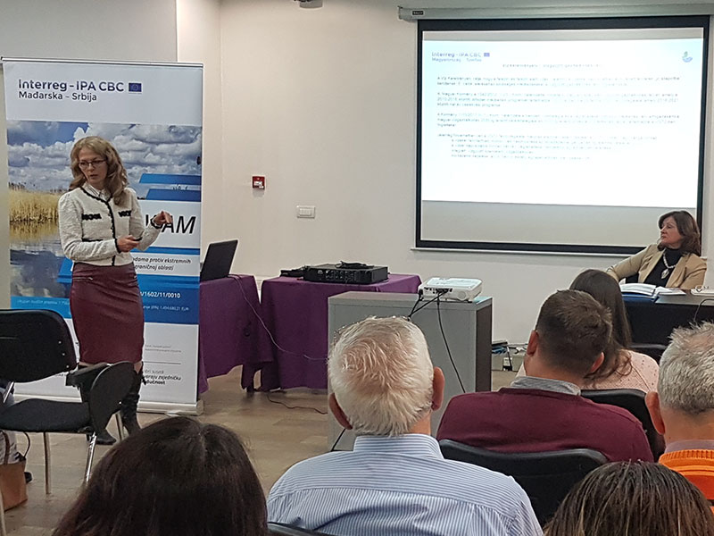 """Roundtable on the EU WFD within the """"Eco-friendly water management against extreme weather conditions in the cross-border area"""" project"""